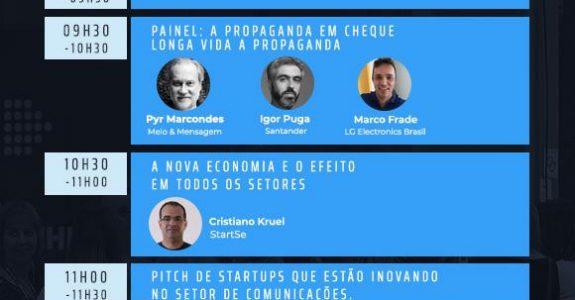 Evento StartSe discute modelo da propaganda e futuro do negócio