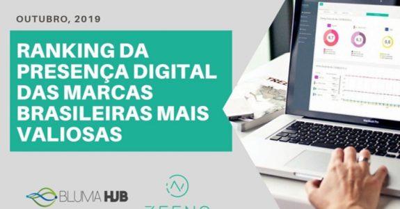 Zeeng e Bluma HUB divulgam presença digital das marcas brasileiras mais valiosas