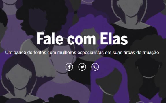 Celina, do Globo, traz banco de fontes de mulheres