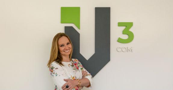 V3Com admite gerente de comunicação