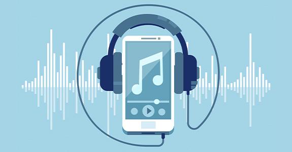 O futuro é em áudio
