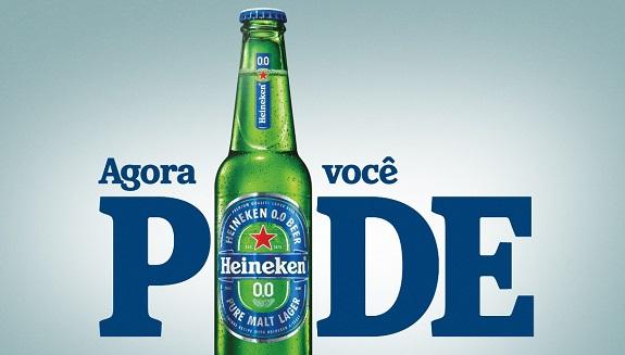 Heineken lança versão zero álcool no Brasil