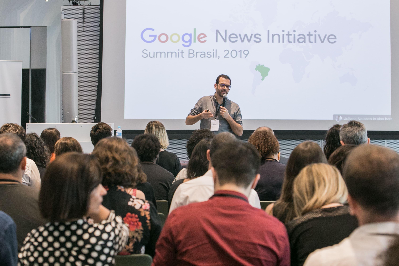 Google promove inovação para mercado jornalístico local