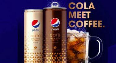 Para impulsionar vendas, Pepsi lança bebida com café