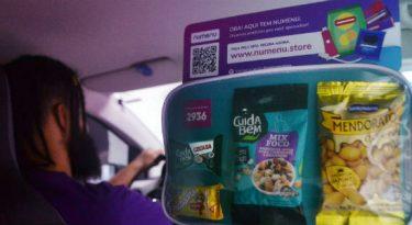 Conveniência impulsiona comércio em carros de aplicativo