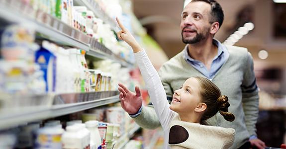 Influência dos filhos no supermercado é de 88%