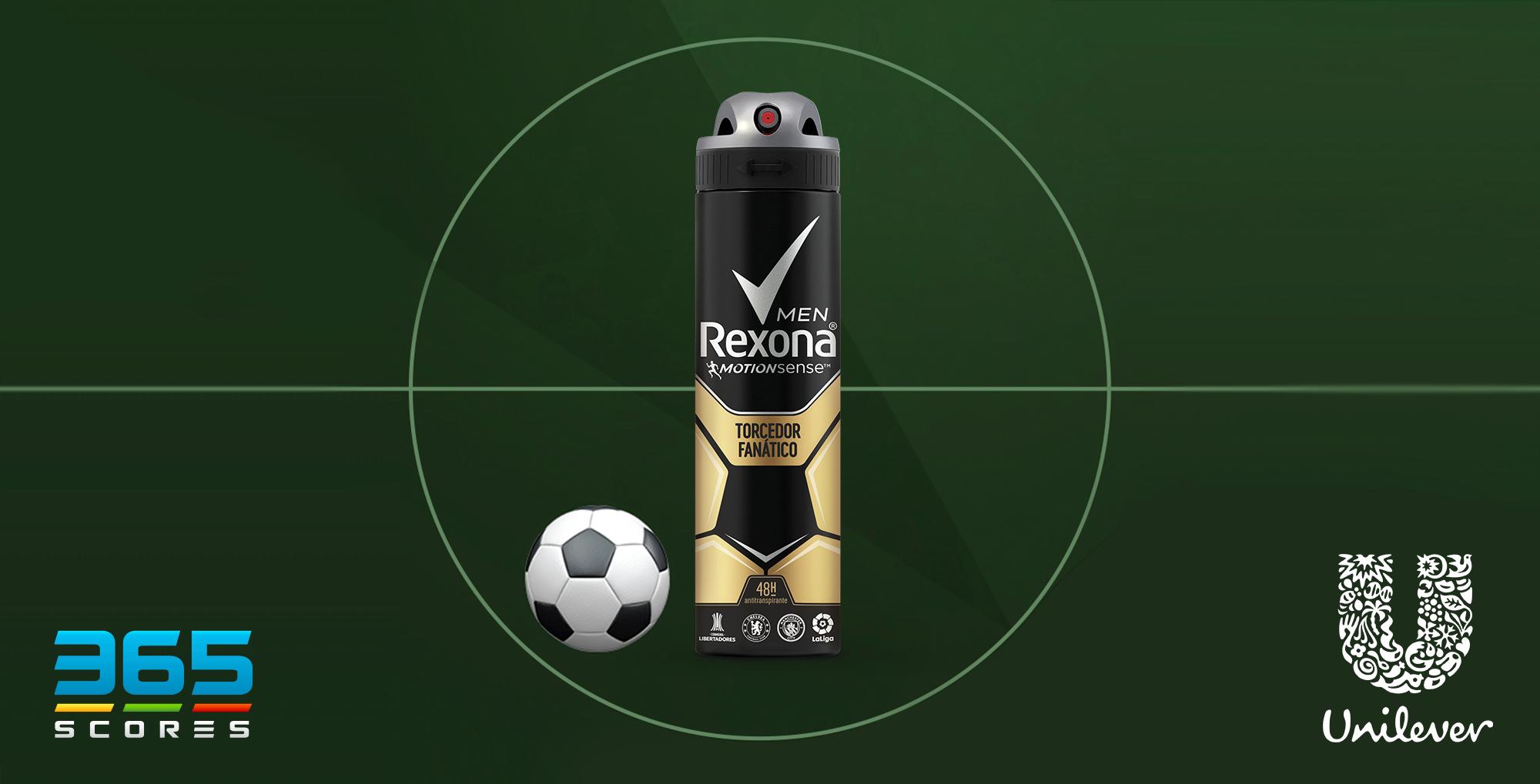 Ação da 365Scores gera resultados na Libertadores para Rexona