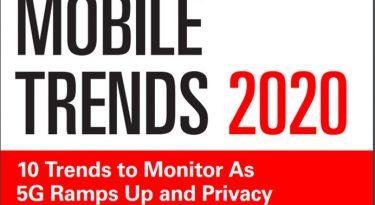 10 principais tendências do mobile para 2020