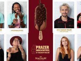 Magnum anuncia sabor com exposição fotográfica