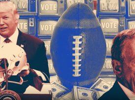 Políticos também querem jogar no Super Bowl LIV