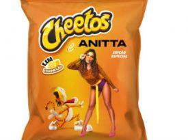 Cheetos leva público para festa na casa de Anitta