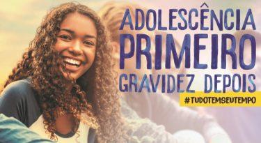 Gravidez não combina com adolescência, diz filme do Governo Federal