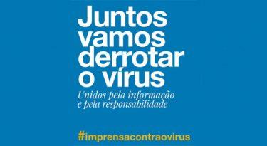 Jornais brasileiros se unem em mensagem sobre Covid-19