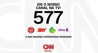 CNN estará no canal 577 para 12 milhões de assinantes