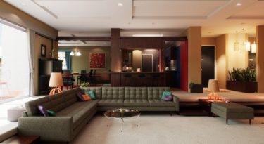 Criativo recria apartamento de Don Draper em 3D