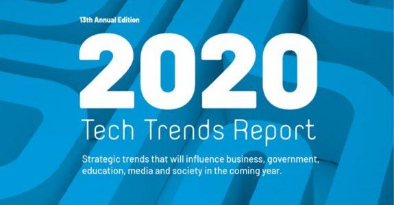 Tech Trends Reports 2020 da Amy Webb aponta para um ano sintético e ainda mais cibernético.