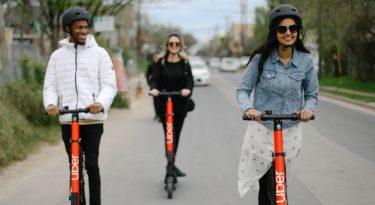 Uber lança serviço de patinetes elétricos em SP