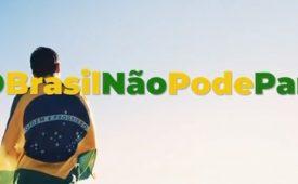 """Justiça proíbe campanha """"O Brasil não pode parar"""""""