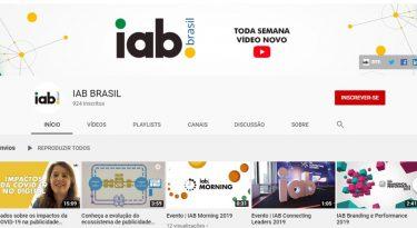 IAB Brasil lança nova programação em canal no YouTube sobre publicidade digital