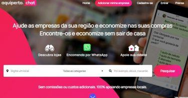 AquiPerto é o primeiro sistema centralizado de vendas por Whatsapp para PMEs
