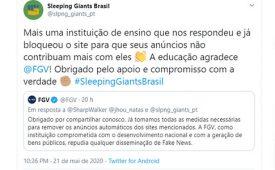 Sleeping Giants mostra impacto da compra de mídia na reputação