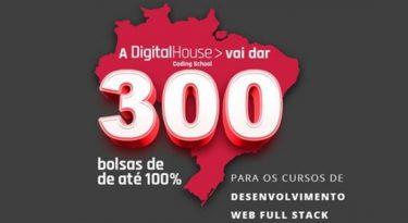 Digital House amplia prazo de inscrições de seu programa de bolsas para estudantes de todo o Brasil
