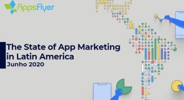 Brasil cresce 55% em número de instalações de apps, destacando-se na América Latina