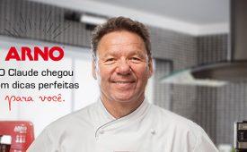 Arno inicia parceria com Claude Troisgros