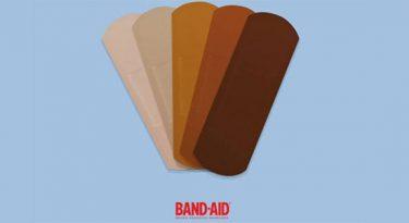 Band-Aid promete curativos para diferentes tons de pele