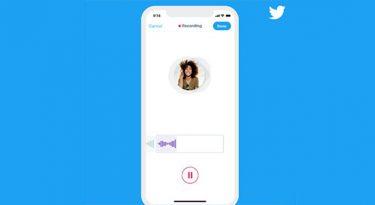 Twitter lança ferramenta para mensagens de áudio