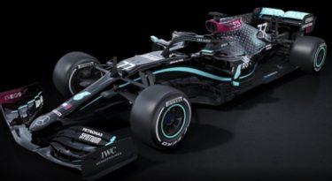 Mercedes pinta carros da F1 de preto em combate ao racismo