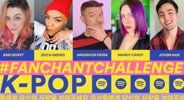 Spotify quer se aproximar do universo do K-pop