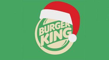 """Burger King """"desiste"""" de 2020 e antecipa Natal"""