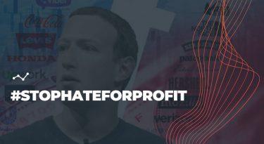 Estudo mostra impacto do movimento #stophateforprofit no investimento das marcas no Facebook.