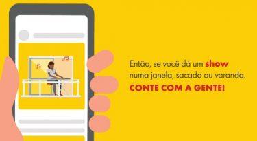 Shell leva artistas anônimos para live com Ivete Sangalo