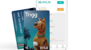 Trigg lança cartão do Scooby-Doo em parceria com a Warner