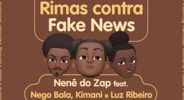 Projeto reúne rappers em combate às fakes news