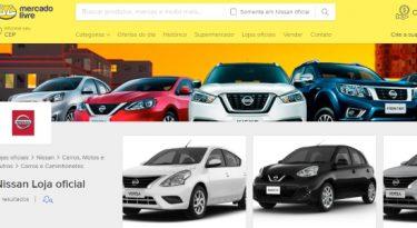 Nissan abre loja oficial no Mercado Livre