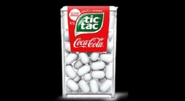 Tic Tac ganha versão em sabor Coca-Cola