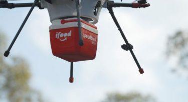 iFood inicia testes para realizar entregas por drones