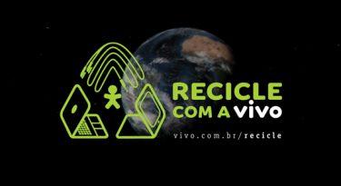Vivo incentiva o público a reciclar lixo eletrônico