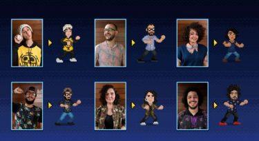 W+K transforma colaboradores em personagens de game