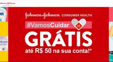 J&J lança promoção com cashback