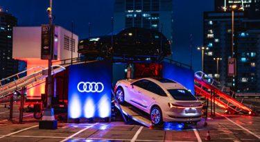 Audi promove experiência de direção em rooftop de SP