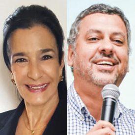 Christina Carvalho Pinto e Paulo Monteiro