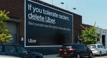 "Uber dá recado a racistas: ""Deletem o Uber"""