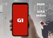 G1 destaca dados na cobertura eleitoral pelo Brasil