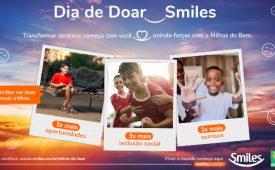 Smiles lança campanha de incentivo a doações