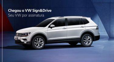 Volkswagen estreia serviço de carro por assinatura