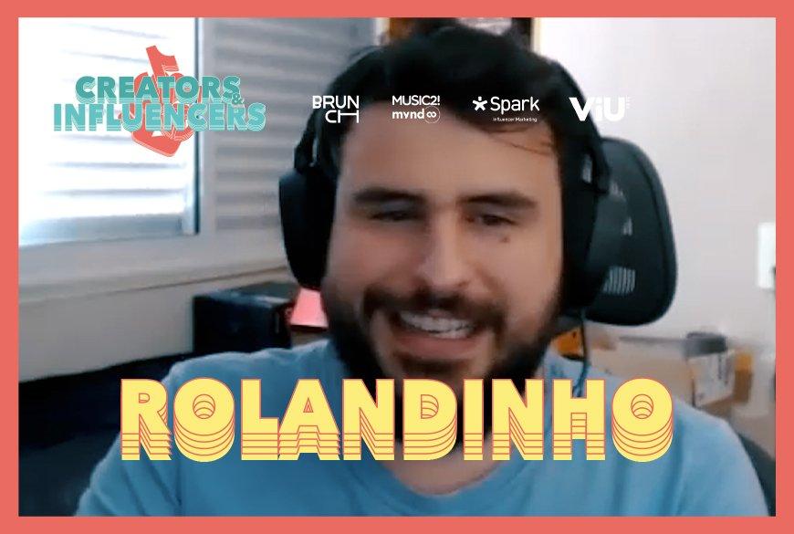 Um papo geek com Rolandinho